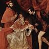 Portret papieża Pawła III z wnukami (Alessandro i Ottavio Farnese), Tycjan, zdj. WIKIPEDIA
