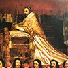 Papież Aleksander VII w trakcie procesji Corpus Dei, Giovanni Maria Morandi, Nancy, Musee des Beaux-Arts