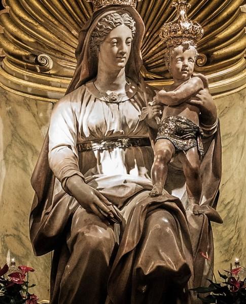 Madonna del Parto, Jacopo Sansovino, bazylika Sant'Agostino