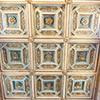Kościół Sant'Agata dei Goti, strop
