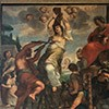 Męczeństwo św. Agaty, Paolo Perugini, jeden z fresków dekorujących wnętrze kościoła Sant'Agata dei Goti