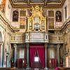 Wejście do kościoła Sant'Agata dei Goti