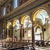Interior of the Church of Sant'Agata dei Goti