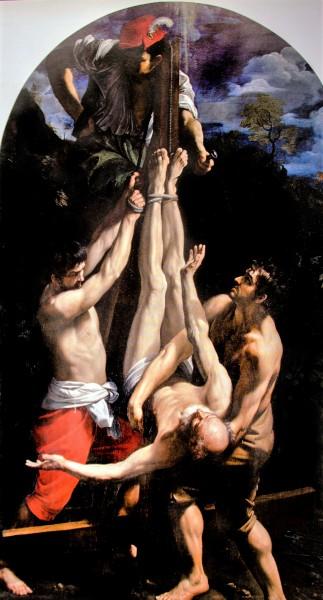 Guido Reni, Ukrzyżowania św. Piotra, Musei Vaticani, Pinacoteca Vaticana
