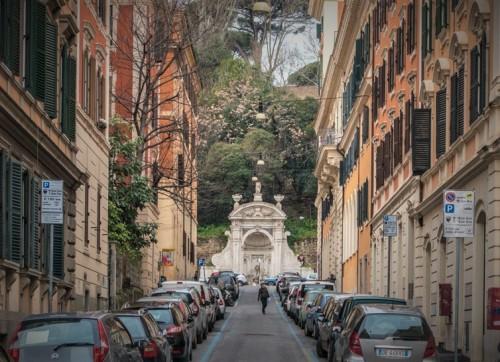 Fontana del Prigione of Janiculum Hill