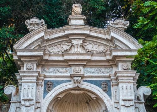 Fontana del Prigione of Janiculum Hill (Gianicolo), fragment
