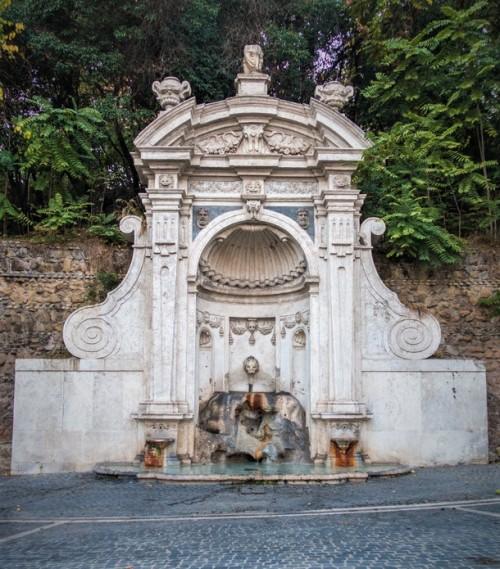 Fontana del Prigione na wzgórzu Gianicolo