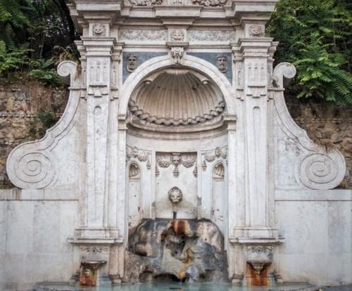 Fontana del Prigione,fragment, Gianicolo