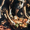 The Conversion of St. Paul, fragment, Caravaggio,Cerasi Chapel, Basilica of Santa Maria del Popolo