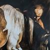 Nawrócenie św. Pawła, fragment, Caravaggio, kaplica Cerasich, bazylika Santa Maria del Popolo