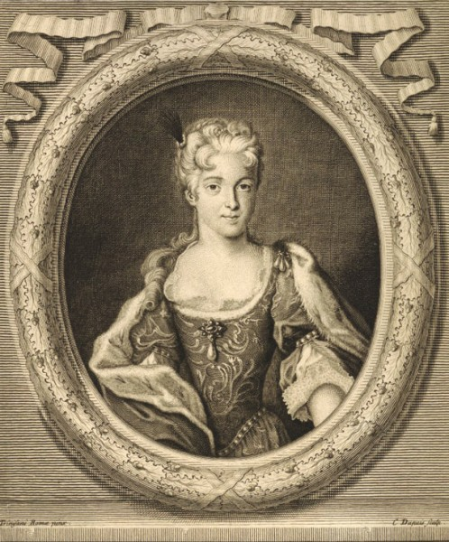 Maria Klementyna Sobieska, Louis Charles Trevisani, zdj. Wikipedia