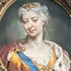 Maria Klementyna Sobieska, pomnik nagrobny, fragment, bazylika San Pietro in Vaticano