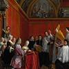 Ślub Marii Klementyny Sobieskiej z Jakubem Edwardem Stuartem, Agostino Masucci,zdj. Wikipedia