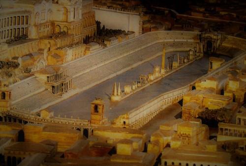 Circus Maximus – model, Museo della Civiltà Romana