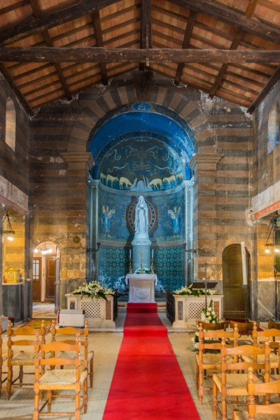 Interior of the Church of Santa Maria in Cappella