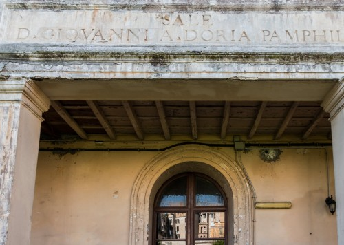 The Francesca Romana Retirement Home, information about the foundation of the family Doria-Pamphilj