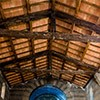 Church of Santa Maria in Cappella, open roof truss