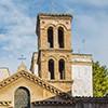Kościół Santa Maria in Cappella, średniowieczna dzwonnica