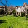 The garden of the Francesca Romana Retirement Home