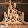 Antonio Canova, pomnik nagrobny papieża Klemensa XIV, fragment, bazylika Santi Apostoli