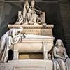 Pomnik nagrobny papieża Klemensa XIV, Antonio Canova, bazylika Santi Apostoli