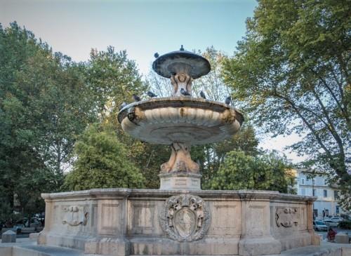 Fontana di Piazza Mastai,Trastevere