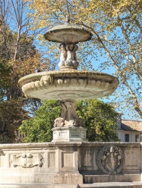 Fontana di Piazza Mastai, fragment