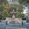 Fontana di Piazza Mastai on the Mastai Square, Trastevere