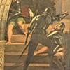 Uwolnienie św. Piotra z więzienia, fragment, Rafael i jego warsztat, Stanza di Eliodoro, pałac Apostolski