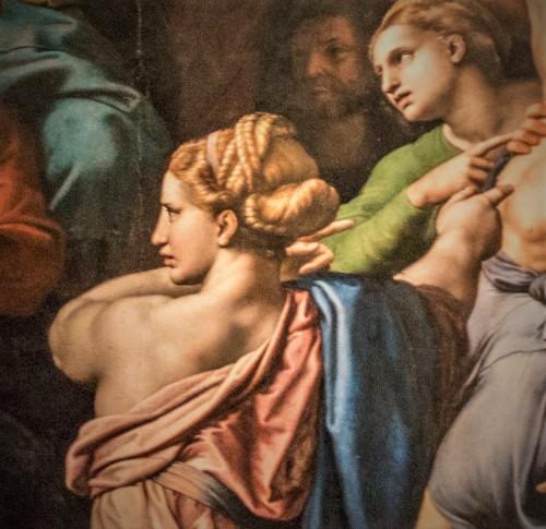 Przemienienie Pańskie, fragment, Rafael, Pinacoteca Vaticana (Musei Vaticani)