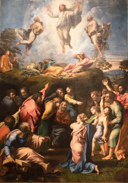 Przemienienie Pańskie, Rafael, Pinacoteca Vaticana (Musei Vaticani)