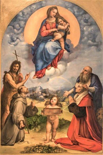 Madonna di Foglino, Rafael, Musei Vaticani - Pinacoteca Vaticana
