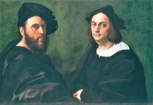 Portret Andrea Navagero i Agostino Beazzano, Rafael, Galeria Doria Pamphilj, zdj. Wikipedia