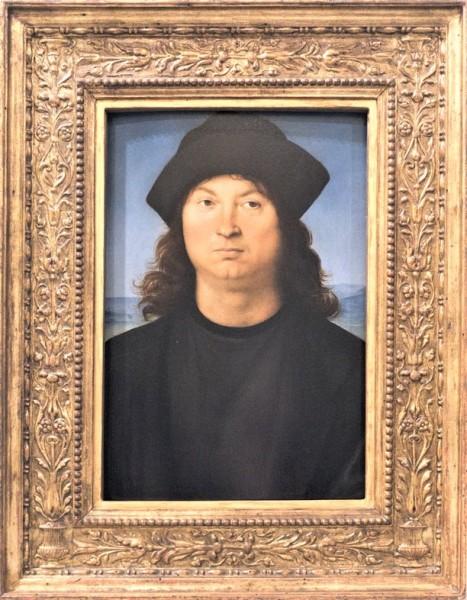 .Portret mężczyzny, Rafael, Galleria Borghese