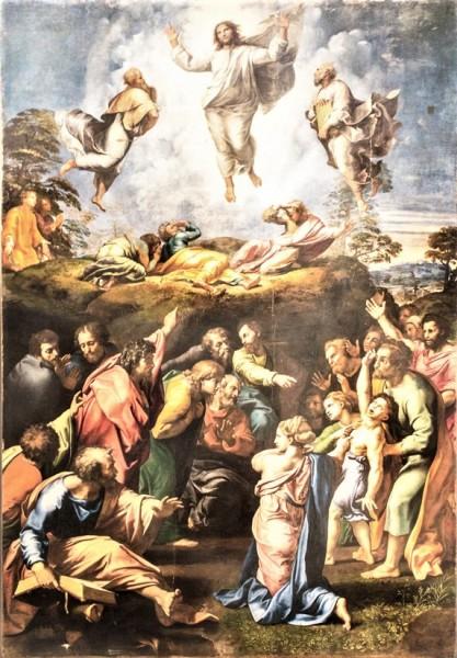 Przemienienie Pańskie, Rafael, Musei Vaticani (Pinacoteca Vaticana)