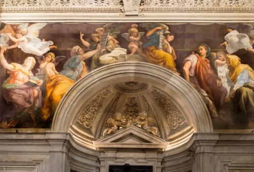 Sybille, Rafael,  kaplica Chigich, bazylika Santa Maria della Pace