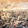 Bitwa na moście Mulwijskim, fragment, Rafael i jego warsztat, Stanza del Constantino, pałac Apostolski