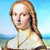 Portret damy z jednorożcem, Rafael, Galleria Borghese