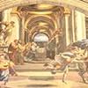 Wypędzenie Heliodora ze świątyni, Rafael, Stanza di Eliodoro, pałac Apostolski