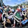 Złożenie do grobu, Rafael, Galleria Borghese