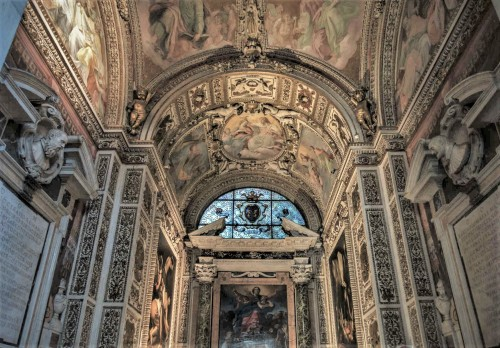 Bazylika Santa Maria del Popolo, kaplica Cerasich