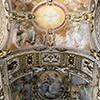 Sklepienie kaplicy Cerasich, bazylika Santa Maria del Popolo