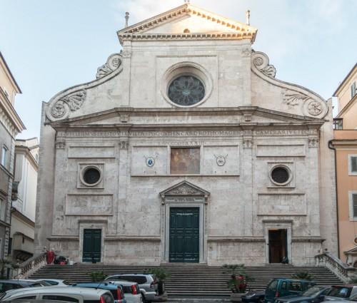 Fasada bazyliki Sant'Agostino