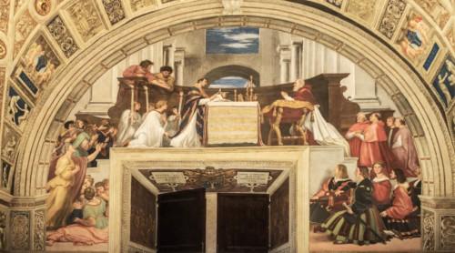 Msza bolseńska, Rafael i jego warsztat,Stanza di Eliodoro, Pałac Apostolski