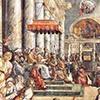 Donacja cesarza Konstantyna Wlk., warsztat Rafaela, Stanza del Constantino, Pałac Apostolski, zdj. Wikipedia