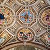 Stanza della Segnatura, Pałac Apostolski, sklepienie