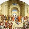 Szkoła Ateńska, Rafael, Stanza della Segnatura, Pałac Apostolski, zdj. Wikipedia