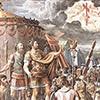 Wizja krzyża, warsztat Rafaela, Stanza del Constantino, Pałac Apostolski,  zdj. Wikipedia