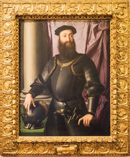 Bronzino, Portret Stefana Colonny, Galleria Nazionale d'Arte Antica, Palazzo Barberini