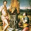 Bronzino, Pigmalion i Galatea (Galleria Uffizi, Florencja), zdj. Wikipedia